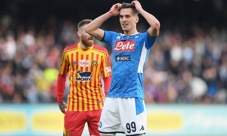 L'Inter pensa sempre a Milik