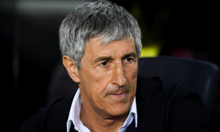 Setién: 'Lautaro è un grandissimo e quando chiama Messi... Leo non lascerà il Barcellona. Su Fabian, Arthur e Pjanic...'