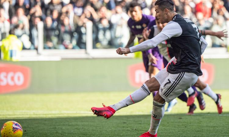 Cristiano Ronaldo suona la nona: 50 gol con la Juve VIDEO