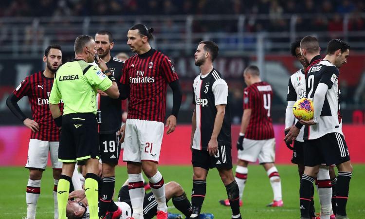 Chirico: 'Col Milan c'erano tre rigori e un rosso a Kessie, ma la colpa è della Juve'