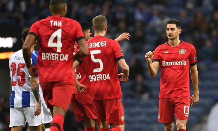 Bundesliga: Wolfsburg-Hoffenheim 2-1. Poker Leverkusen al Gladbach, Lazaro segna di tacco VIDEO