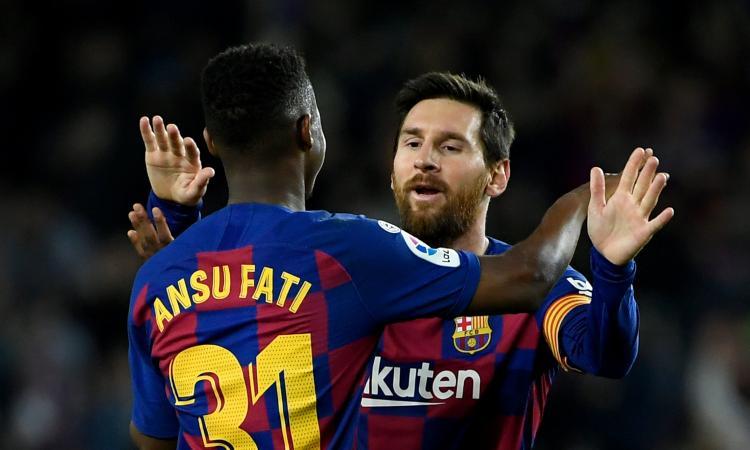 Champions League, Juve-Barcellona sul filo: Messi-gol a 2,50, ma occhio a Fati