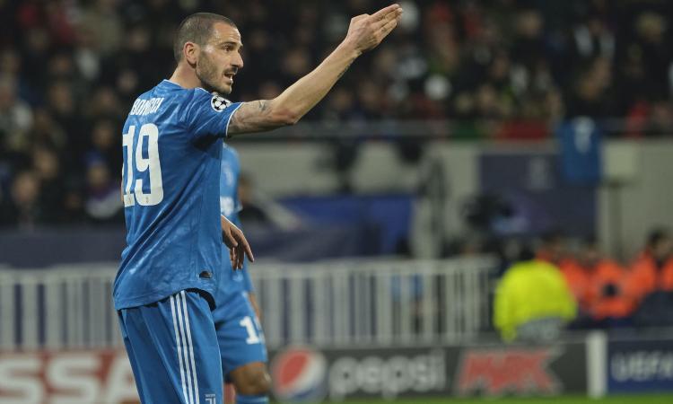 Bonucci, 'capitano' accusatore: sembra quello del Milan, non è un leader