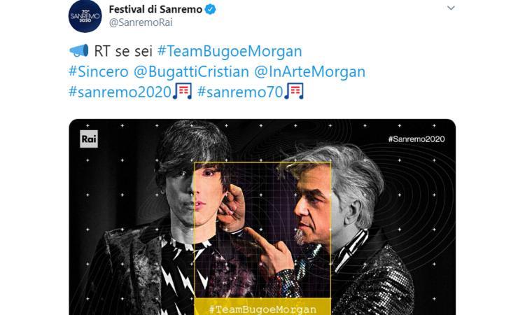 Morgan come Lehmann, poi cambia un'altra canzone per lo juventino Bugo: 'Ancora insieme? Mai dire mai'
