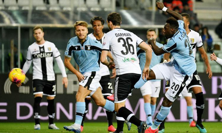Alla Lazio basta Caicedo: 1-0 al Parma, Juve a -1