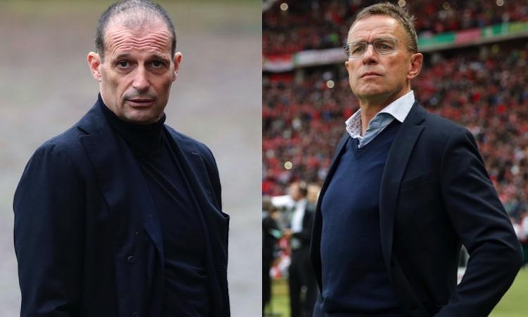Milan, anche il Manchester United pensa a Rangnick: è l'alternativa ad Allegri
