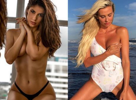 Ines contro Martina: Inter-Milan è anche derby fra sexy-tifose FOTO
