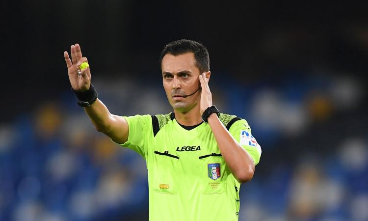Serie A, le designazioni arbitrali: Di Bello per Roma-Juventus. Inter-Fiorentina a Calvarese
