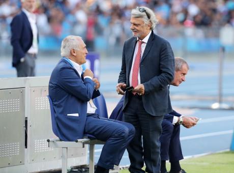 Rinvii, istanze di fallimento e crollo del CdA: Ferrero nella bufera, Ranieri è l'ombrello