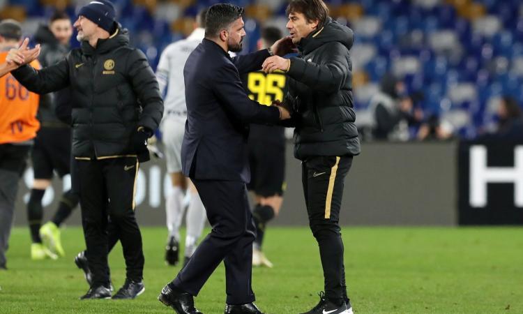 Napolimania: Conte faccia meno lo spocchioso, Gattuso lo ha incartato