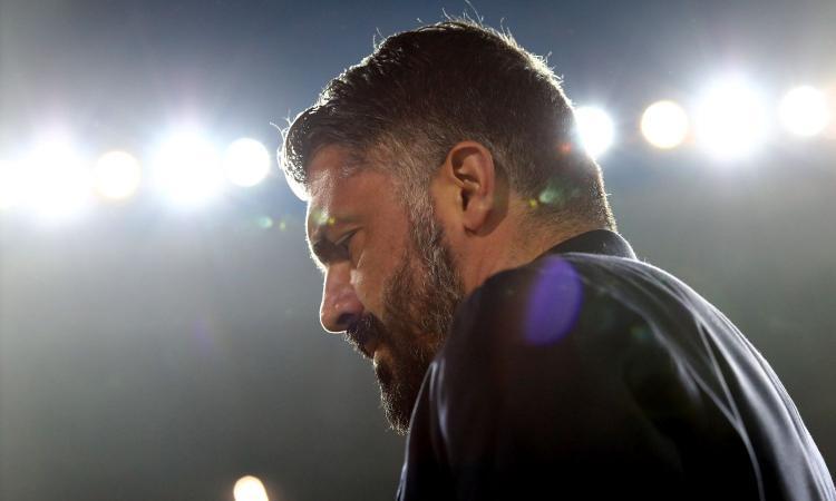 Napoli, Gattuso: 'Obiettivo 40 punti, poi vediamo. Barcellona? Non ci dormo la notte...' VIDEO