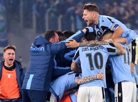 Immobile e Milinkovic ribaltano l'Inter, è la Lazio la anti-Juve