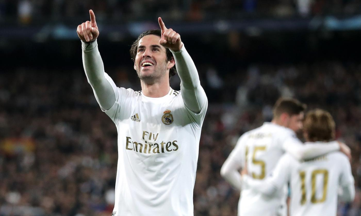 Real Madrid: due big italiane su Isco | Mercato | Calciomercato.com