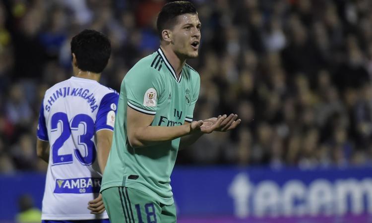 Real Madrid: non solo il Milan, un'italiana su Jovic