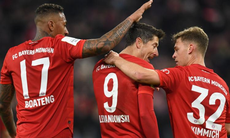 Bundesliga: Bayern sempre avanti, il Gladbach sogna a 66,00