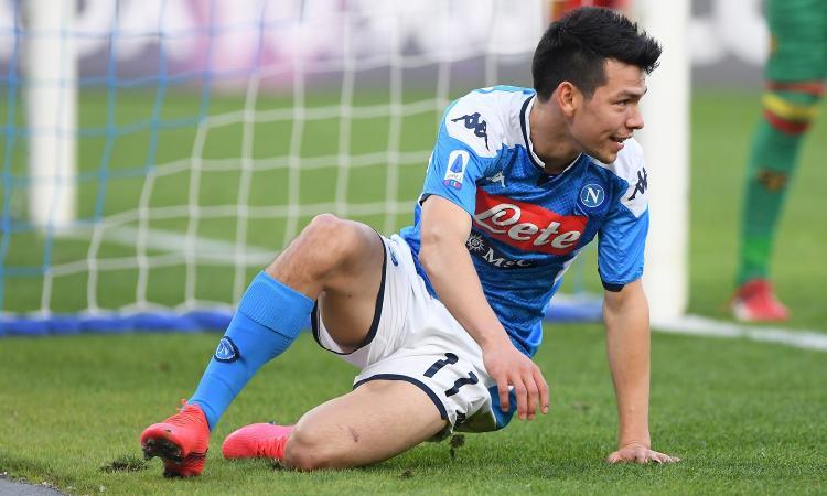 Napoli: tre squadre inglesi su Lozano