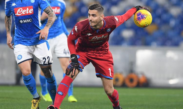 Napoli, Meret rischia l'Europeo: il timore di De Laurentiis e l'Inter sullo sfondo