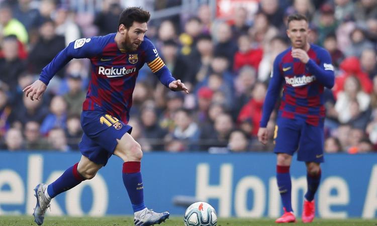 Messi 'accoglie' Lautaro: 'Spettacolare, ricorda Suarez e sarebbe bello averlo qui. Sul Napoli e sul mio futuro...'