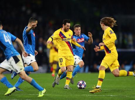 Messi intimidito nel regno di Diego. Gattuso ferma il Barcellona all'italiana: per i quarti di Champions c'è speranza