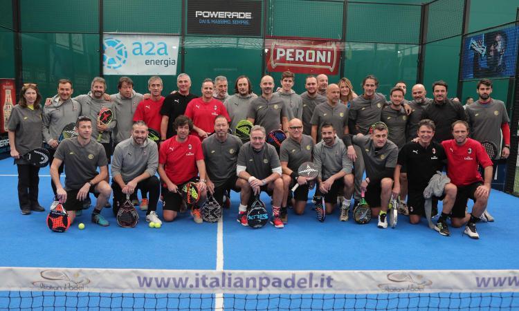 Derby all'Inter con Bonolis: Milan ko anche a padel
