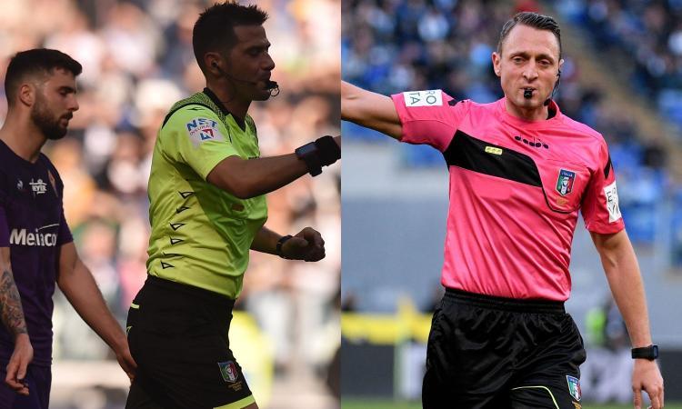 Pasqua come Abisso in Fiorentina-Inter: facciamo come in Premier, il Var si sostituisca all'arbitro