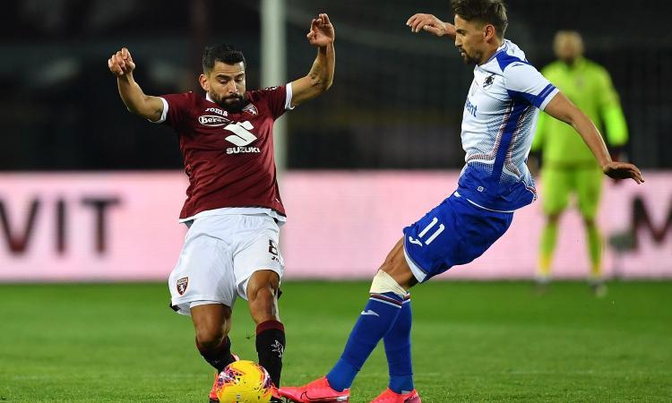 Verdi illude il Torino, Ramirez guida la rimonta della Samp