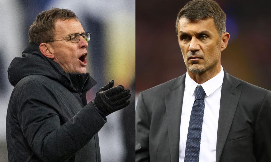 Rangnick manda messaggi a Maldini e Pioli, non al Milan