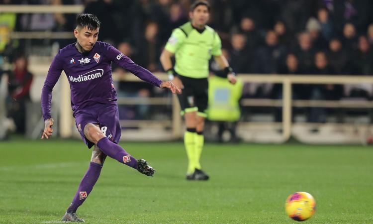 Rebic non basta al Milan: la Fiorentina in 10 pareggia con Pulgar su rigore