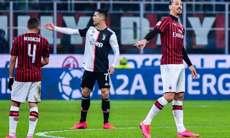 Coppa Italia: una brutta Juve riacciuffa il Milan in 10 allo scadere. Rigori e polemiche, al ritorno non ci sarà Ibra