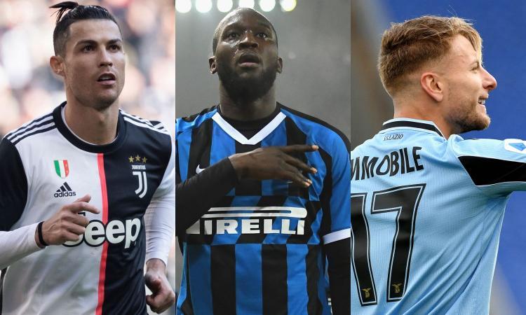 Inter in pole davanti alla Lazio, Juve terza: la grigla di (ri)partenza in Serie A