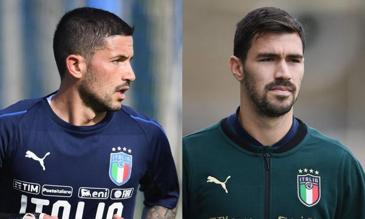 Da Sensi a Romagnoli, il derby 'azzurro' sotto gli occhi di Mancini: chi va all'Europeo?