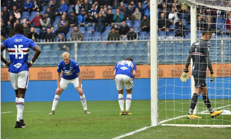 Sampdoria, le pagelle di CM: sprofondo rosso, non si salva nessuno