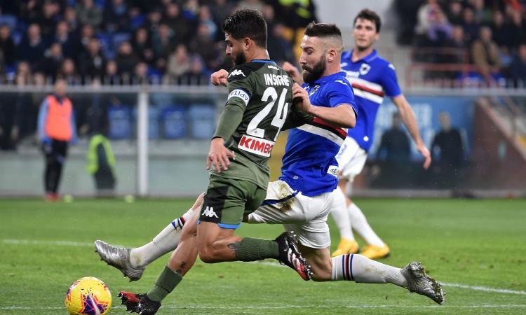 Sampdoria, Ranieri studia la difesa a tre