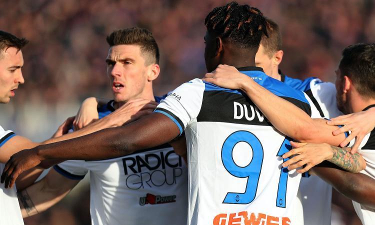 L'Atalanta ribalta la Fiorentina: 2-1 e quarto posto solitario