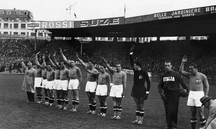 La storia di Austria-Italia del 1937, sospesa per troppa violenza in campo