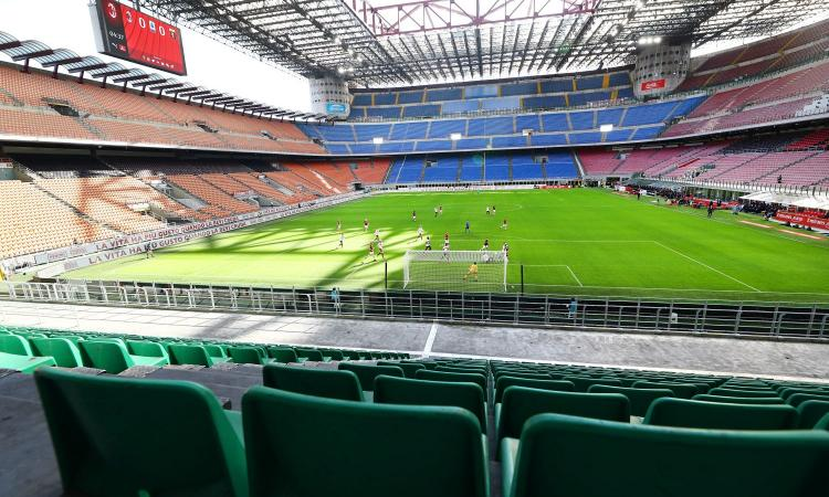 Anche la Lombardia riapre gli stadi, ammessi fino a 1000 spettatori. Milan al lavoro per il Bologna