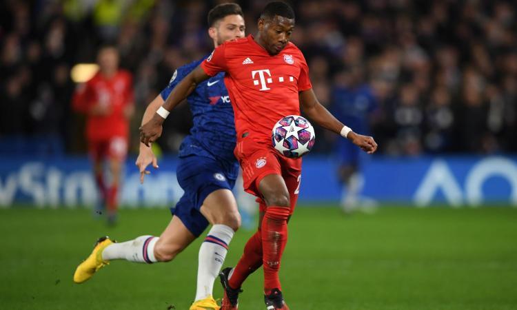 Alaba cambia agente e si allontana dal Bayern: la Juve ci pensa