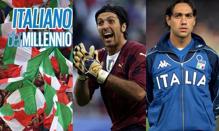 Italiano del millennio: che battaglia, ma Buffon supera Nesta e va in semifinale contro Pirlo!