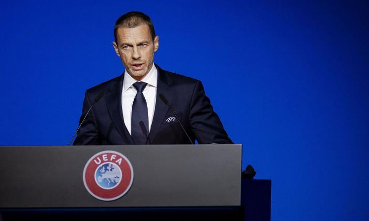 Ceferin: 'Finiremo i campionati, ma non a settembre. Il Fair Play Uefa resta. Mercato lungo e deroghe sui contratti'