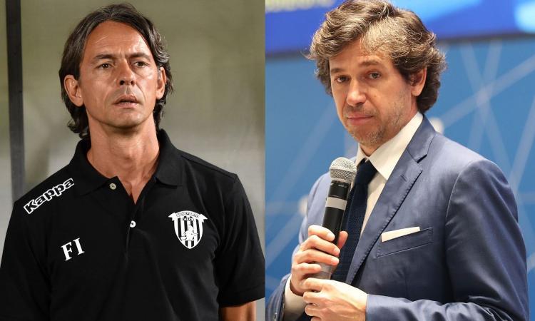 Inzaghi: 'Giochiamo, il campionato va finito'. Dura replica di Albertini: 'L'ignoranza sceglie sempre le parole sbagliate'