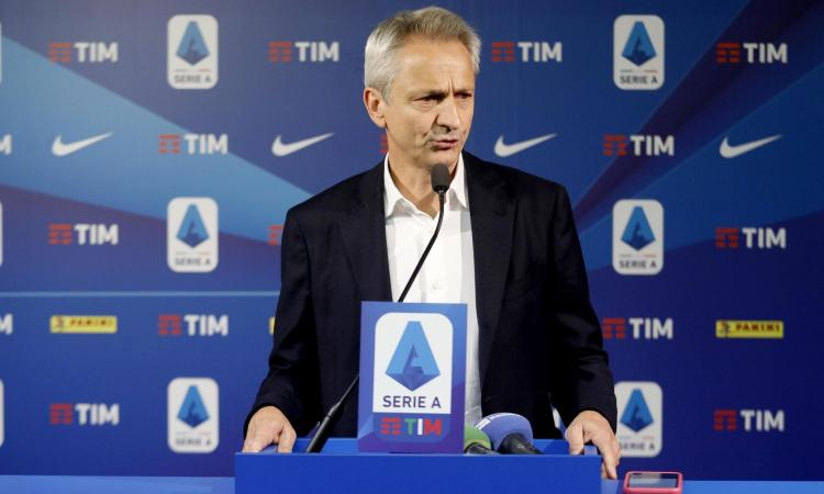 Serie A, termina l'assemblea: chiesti aiuti al Governo, 720 milioni di perdite se non si riparte. Gravina: 'Niente playoff'