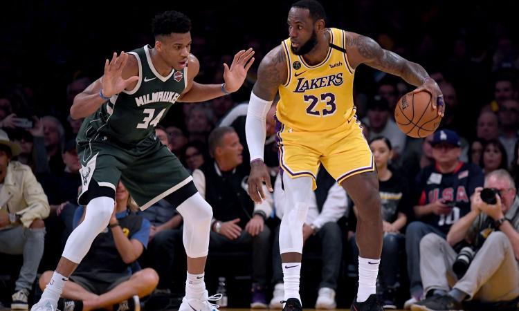 Riparte l'NBA: 88 gare, poi i playoff nella bolla di Orlando. Subito Lakers-Clippers, tutti contro LeBron per la caccia all'anello