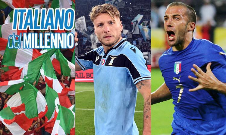Italiano del millennio, Totti soffre, ma supera Gattuso. Oggi Immobile sfida Del Piero: chi è meglio? VOTA