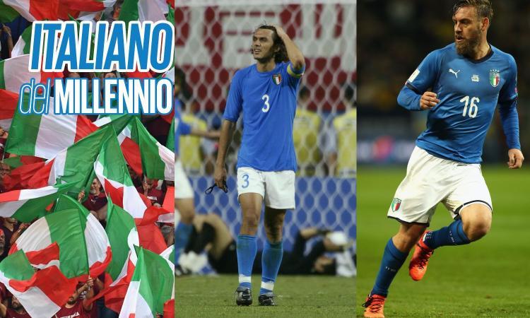 Italiano del millennio, Pirlo batte Inzaghi. Ora De Rossi sfida Maldini: chi è meglio? VOTA
