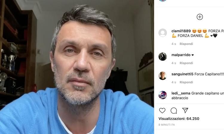 Milan, Maldini rassicura: 'Io e Daniel stiamo bene, dovremo sconfiggere il virus in una settimana'