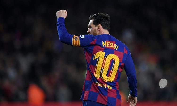 Coronavirus, Messi: 'Grande incoraggiamento a chi lo combatte, la salute viene prima di tutto'