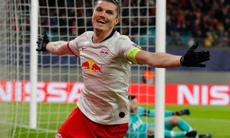 Due gol per mandare ko Mourinho: il Lipsia vola con Sabitzer, scoperta di Rangnick
