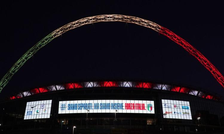 Coronavirus e sport, Lega: 'Entro lunedì piano per gli stipendi'. Wembley sostiene l'Italia, 25 casi nel Valencia