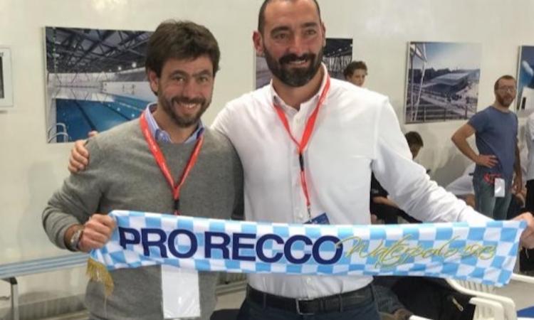 Diario di una quarantena. Felugo a CM: 'La Pro Recco, la Juve e la Champions...'