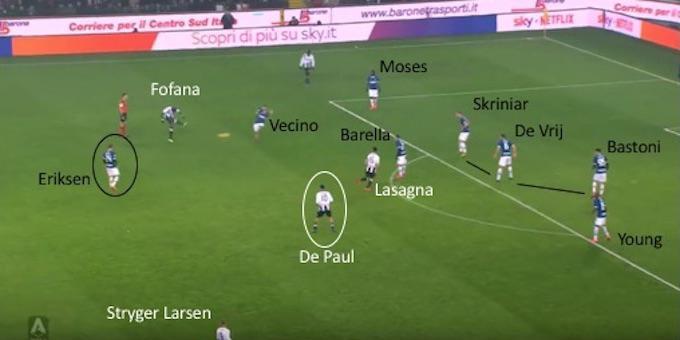 Inter: il 'carrozzone' appesantisce Eriksen, ecco come sfruttare il danese